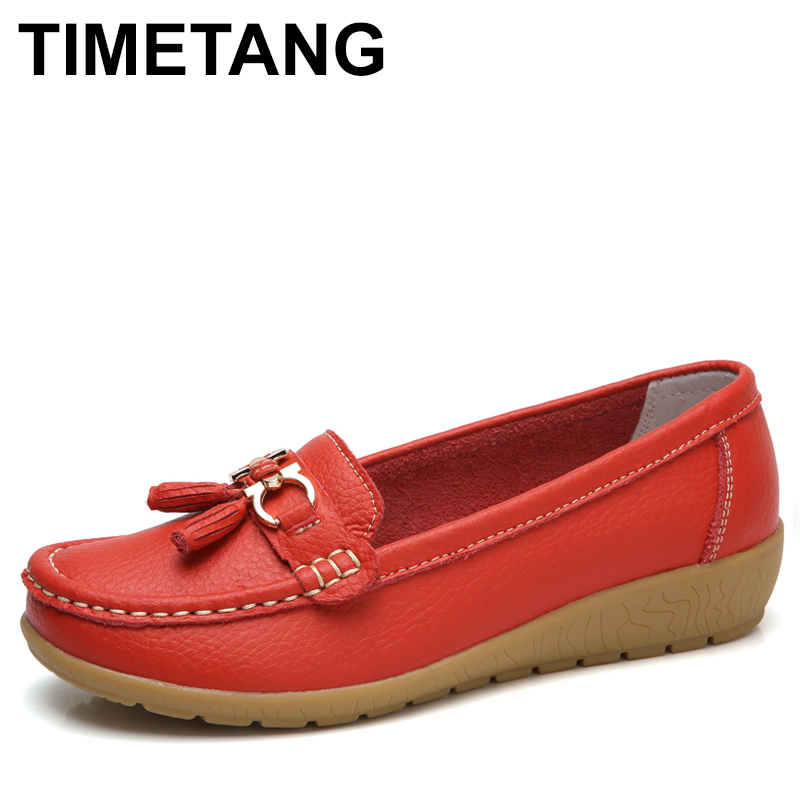 TIMETANG 2018 Women Summer Shoes New Fashion Women Moccasins Flats Beach Fringe Flat Shoes Ladies Casual Shoes Female loafers 34 43 big small size new 2016 summer fashion casual shoes moccasins bottom shoe platform flat for women s loafers ladies