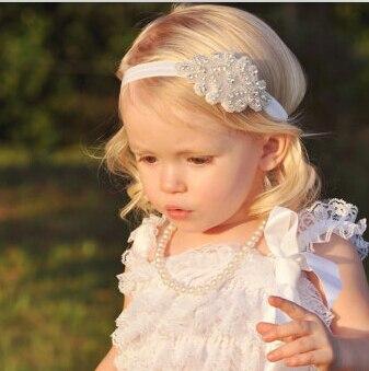d546353f10bc9c Neue Strass Stirnband für Baby Mädchen Haar Taufe Stirnband Newborn Foto  Prop Baby Dusche Geschenk 6 teile/los in Neue Strass Stirnband für Baby  Mädchen ...