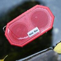 Original New Bee Wireless Bluetooth Speaker Mini Pocket Waterproof Shockproof Stereo Music Loudspeaker With Mic Outdoor