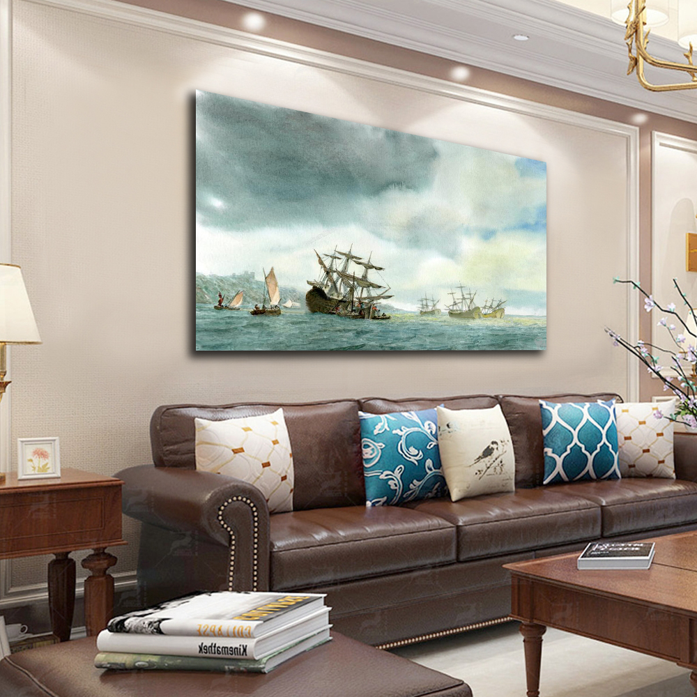 Embelish Hot Selling Modern Home Decor HD Canvas Oil