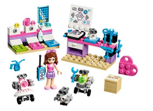 Bela 10602 Friends Series Olivia's Creative Lab Building Block Bricks Toys Gift Children Compatible With Legoings Friends 41307 bevle 10605 bela friends series andrea s musical duet model building block bricks compatible with lepin friends 41309