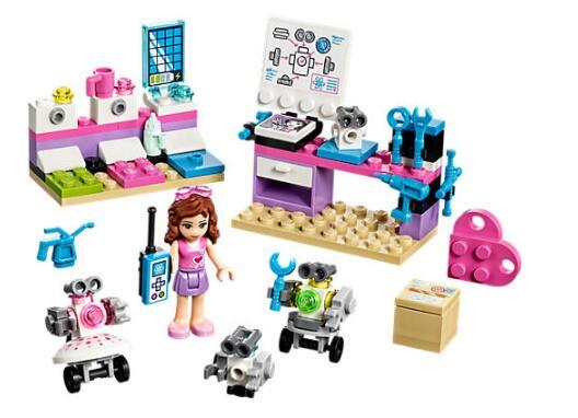 Bela 10602 Friends Series Olivia's Creative Lab Building Block Bricks Toys Gift For Children 41307