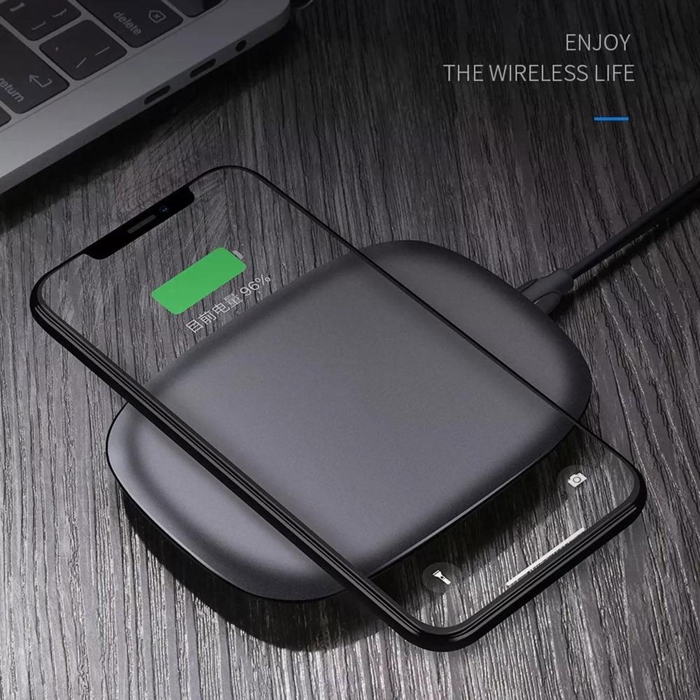 Qi Wireless Caricatore Veloce 5 v Ultra light Pad di Ricarica Senza Fili For iPhone X For