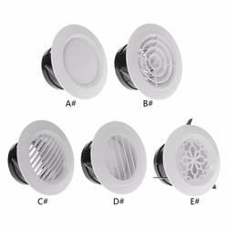 Вентиляционное отверстие экстракт клапан решетка круглый диффузор воздуховоды вентиляции Обложка 100 мм