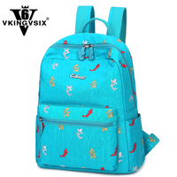 VKINGVSIX Brand Waterproof Fashion Backpack 2017 New Creative Pattern School Bag For Teenagers Student Back Pack