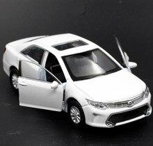 1:36 alloy tirare indietro Toyota Camry modello, alta simulazione 2 porta aperta auto giocattoli, metallo, getti veicoli giocattolo, spedizione gratuita