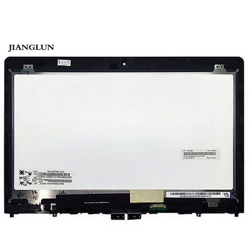 JIANGLUN For Lenovo Thinkpad Yoga 460 01AW135 14'' FHD LCD LED Touch Screen Frame Assembly jianglun for lenovo yoga710 14