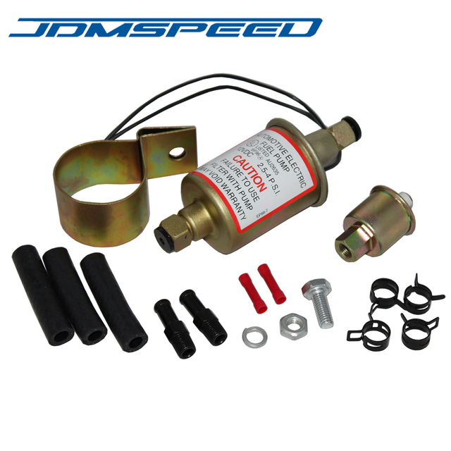 Free Shipping Jdmsd Universal Electric Fuel Pump Gas Sel Marine Carbureted E8016s