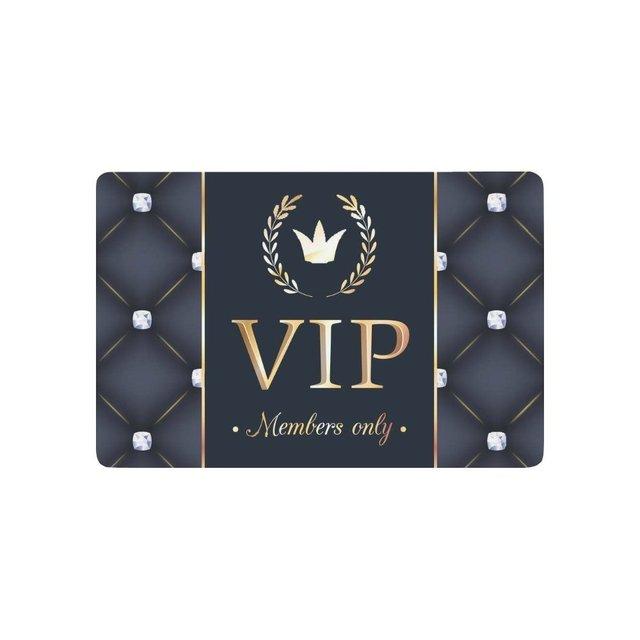 Vip Member Only Anti Slip Door Mat Home Decor Personalized Indoor