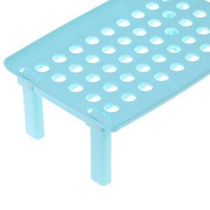 Image 5 - Стеллаж для микроволновой печи складной кухонный Органайзер шкаф полка для хранения стойка для холодильника дом держатель посуды пластиковая стойка
