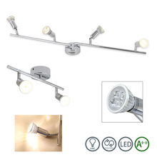 2/4 heads 4W GU10 Rotatable LED Ceiling Light Spot light Indoor Outdoor Lighting Fixture Living Kitchen Room Bedroom Shop Stage outdoor ceiling light outdoor ceiling walking light ventilation garden villa continental locker room kitchen aluminum alloy z
