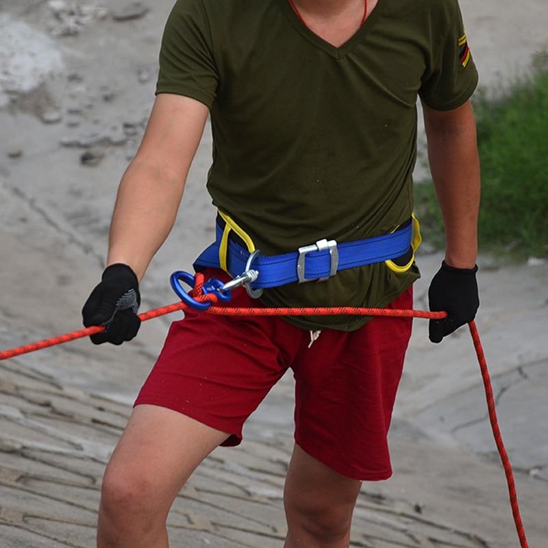 20 m professionnel 12KN (1200 kg) corde d'escalade en plein air randonnée Camping accessoire corde d'évacuation haute résistance corde cordes de sécurité