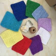 20*23cm New Tulle Roll Accessories Tulle Spool Crochet Baby Chest Wrap Infant Sewing Knit Fabric Headband Girl Birthday Gifts-B