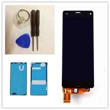 black For Sony Xperia Z3 Mini Compact LCD D5803 D5833 LCD Display Touch Screen With Digitizer Glass Assembly+Repair Tool
