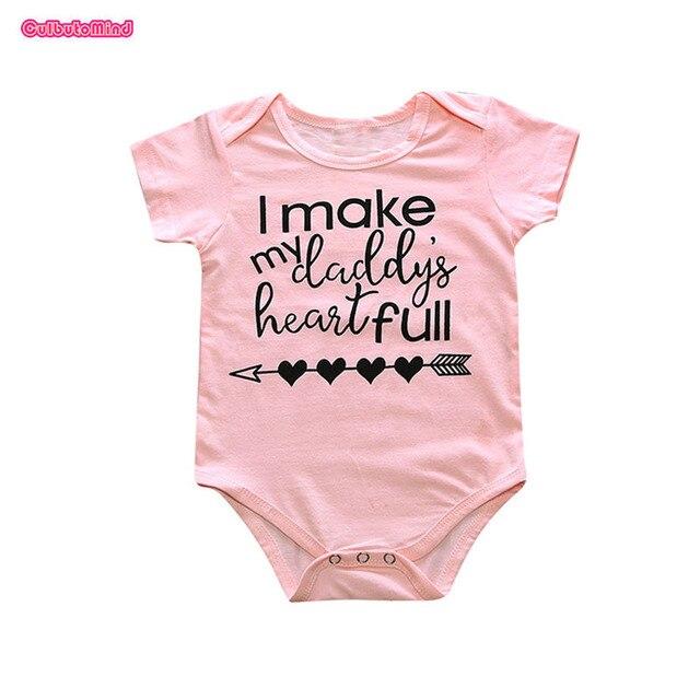 15e9f99f978a Culbutomind Summer Pinke Short Sleeve Cotton I Make My Daddy Hear ...