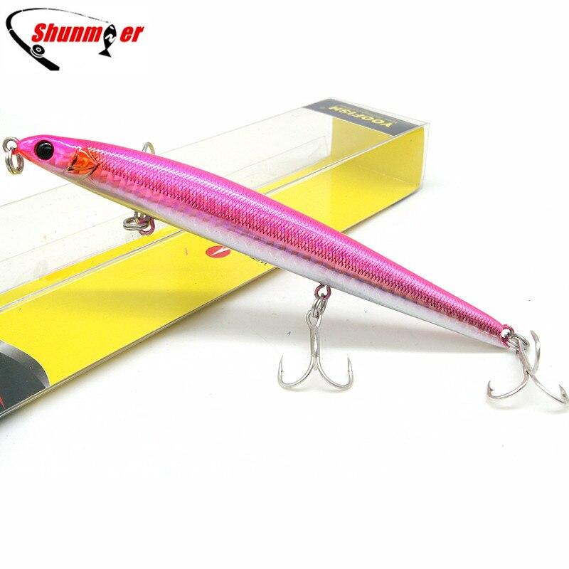 SHUNMIER 1 шт. 13 см 20 г мульти тонущий - Рыбалка - Фотография 3