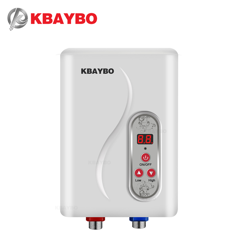 7000w water heater instant electric tankless water heater instant electric water heating shower 3 seconds hot - Electric Tankless Water Heater Reviews