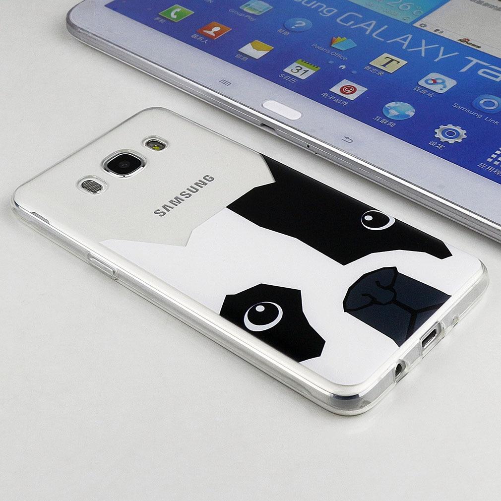 Cas Pour Samsung Galaxy J5 Premier 2016 J2 J7 Mignon Coque En Caoutchouc filles Couverture Chien TPU Silicone Pour Samsung Galaxy J5 S4 S5 S6 S7