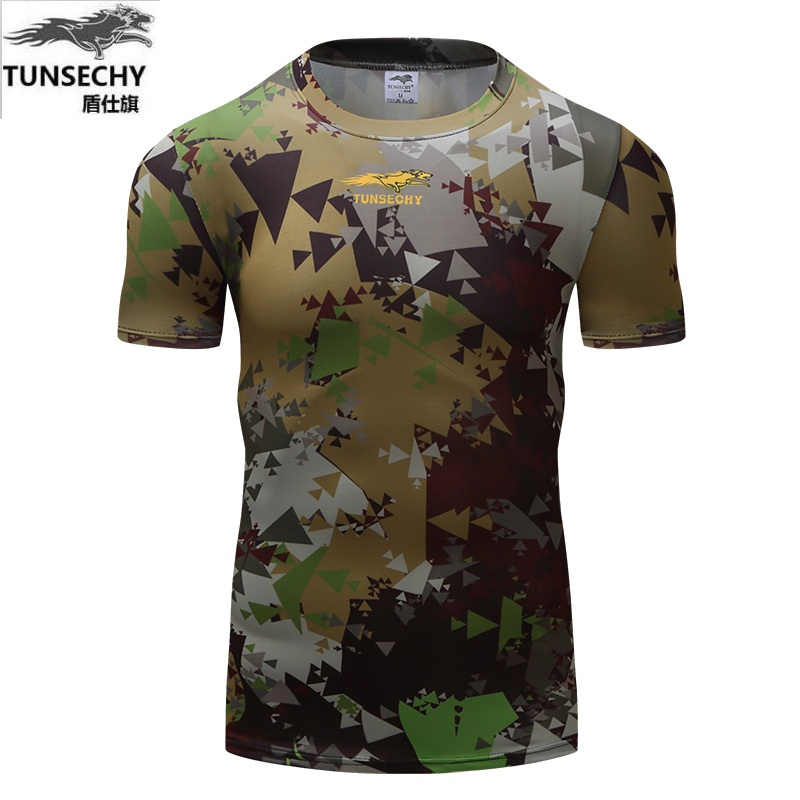 Tops & Tees Men's Clothing Magcomsen Men T-shirts Tactical Military Camouflage T Shirt Men Breathable Quick Dry Python Combat T-shirt Top Tees Ag-ply-24-1
