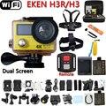 Оригинальная экшн-камера eken H3R / H3 с дистанционным управлением, Ultra 4K, WiFi, двойной экран, видеокамера, объектив 170 градусов, go профессиональная водонепроницаемая pro камера