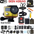 Original Remote Action Camera Eken H3R / H3 Ultra 4K Wifi Dual Screen Video Camera 170 Degree Lens Cam go waterproof pro camera