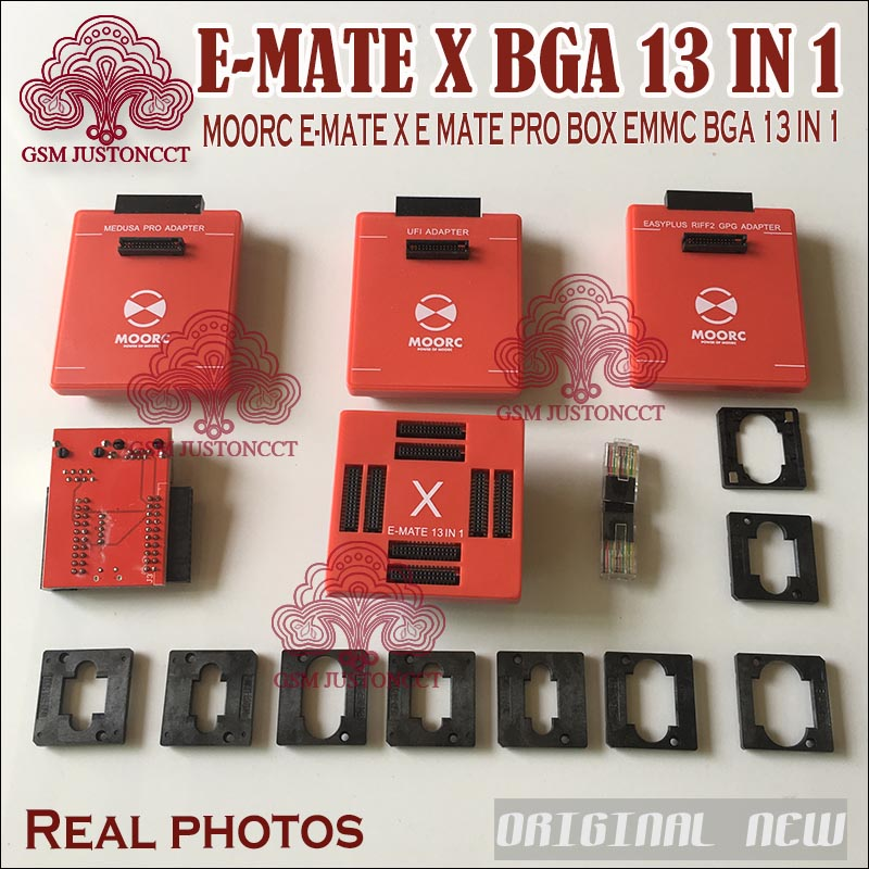 Back To Search Resultscellphones & Telecommunications 2019 Original New Moorc E-socket Moorc E Mate Pro Box E-mate X Emmc Bga 13 In 1 Support 100 136 168 153 169 162 186 221 529 254