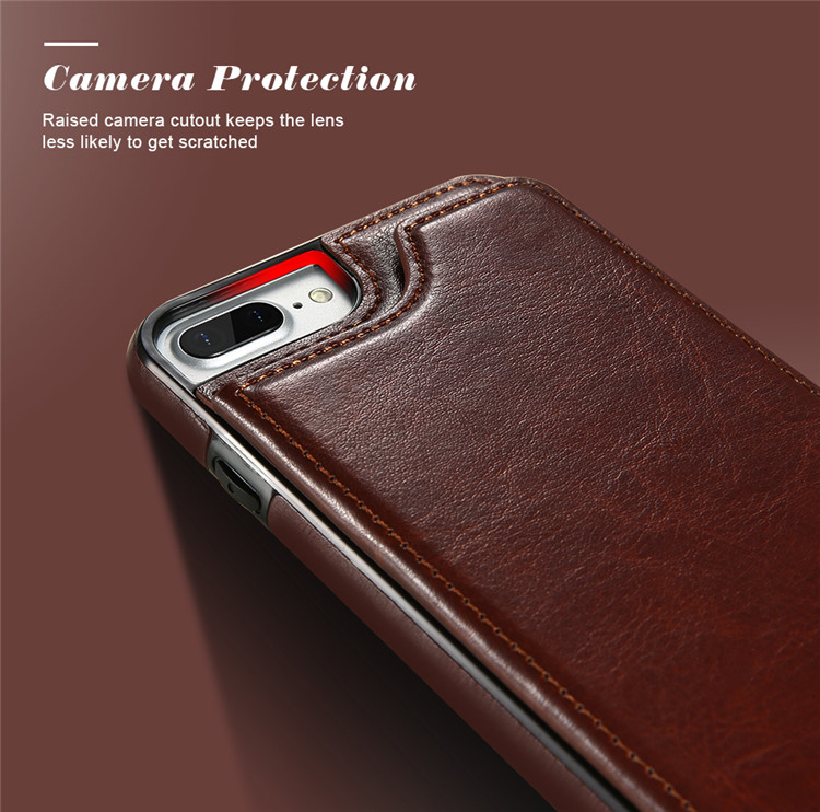 KISSCASE Wallet Cases For iPhone 11 Pro Max 6S 6 7 8 Plus XS Max Shell Retro Flip Leather Phone Case For iPhone 5S 5 SE X 10 XR