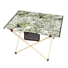 Aluminium Legierung Tisch Klapp Tragbare Kompakte Tisch Für Outdoor Camping Reisen Wandern Angeln Pinic