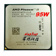 Processador amd fenom ii x4 955 3.2 ghz, cpu quad-core com soquete am3