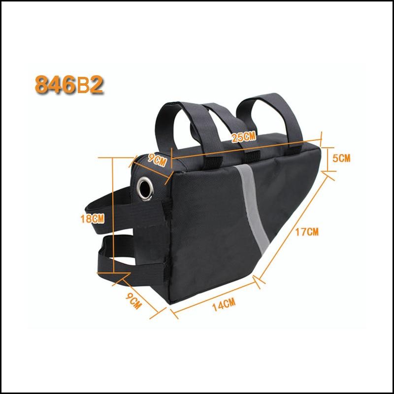 Bicycle Bike Tube Frame Pack Bag Case Battery li-ion Tool Box Storage Hanging
