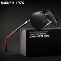 Gafas de sol polarizadas de aluminio antideslumbrante de alta calidad de 2019 gafas de sol de marca nuevas para hombres, gafas de sol de gran tamaño para mujeres