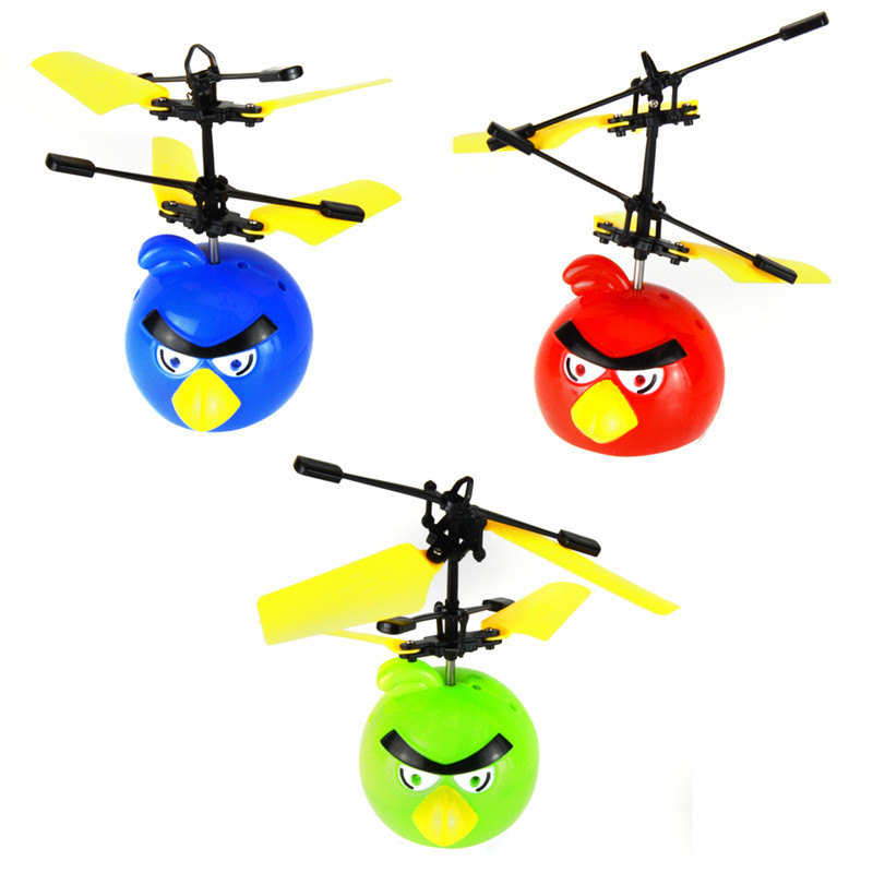 Starz Mini Drones Co Axial Metal Birds Helicopter Built In Gyroscope Remote Control Toys Boys