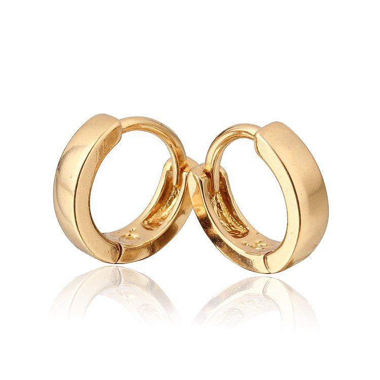 Σκουλαρίκια μωρών Σκουλαρίκια χρυσού - Κοσμήματα μόδας - Φωτογραφία 2