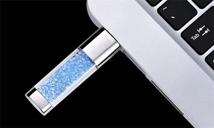 Թեժ վաճառքի գրիչ ադամանդի USB ֆլեշ կրիչ - Արտաքին պահեստավորման սարքեր - Լուսանկար 2