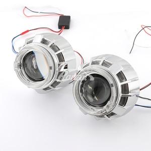 Image 4 - RONAN mini projecteur dange 2.5, double LED drl, bi xénon, phare de voiture, lentilles h1, h4 h7, bricolage, décoration