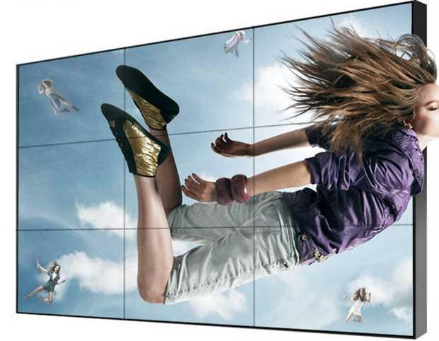 شاشة Lcd مقاس 55 بوصة 3x3 LEd TFT HD LG لوحة تلفزيون 4k مدمج في قوة الدفاع العسكرية ستوديو مراقبة جدار الفيديو مع كاميرا IP