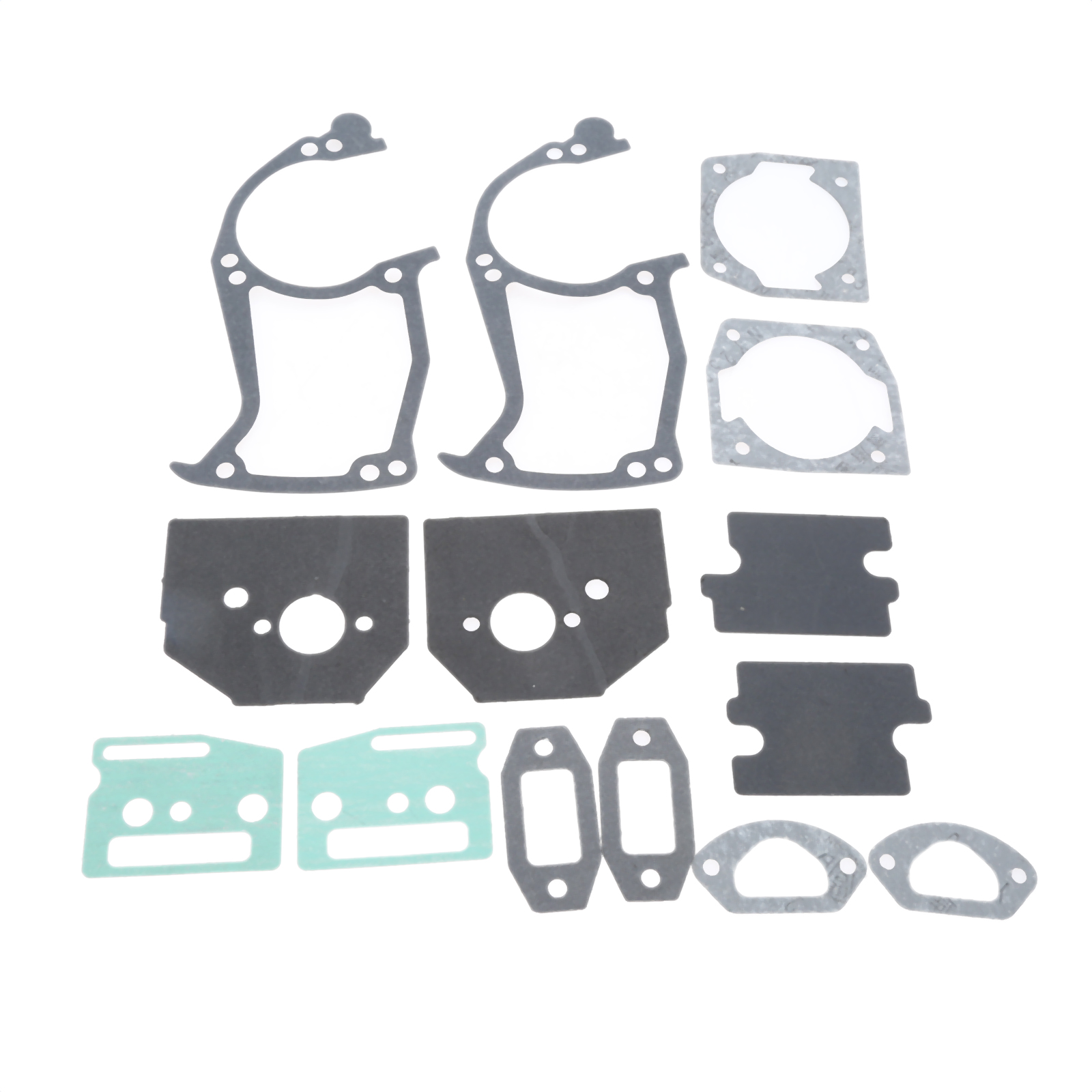 DRELD 2 Sets 45cc 52cc 58cc Chainsaw Paper Gaskets Full Set Fit For 45CC 52CC 58CC Chainsaw Garden Tool Parts