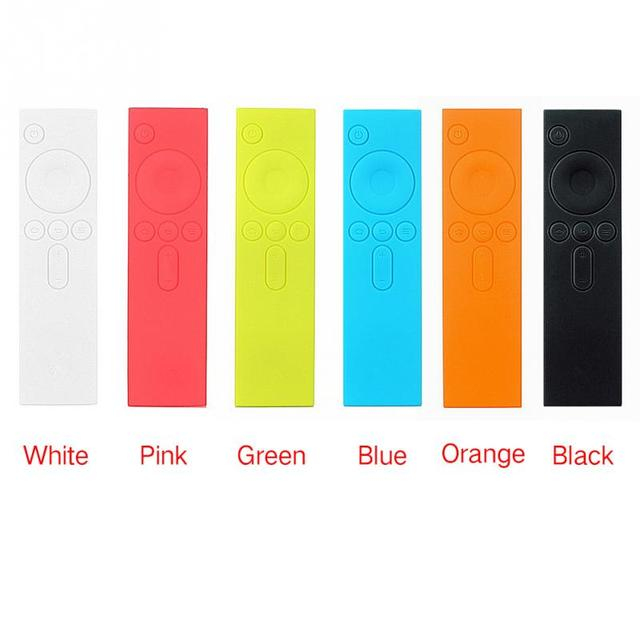 Mi TV Box Soft Remote Colorful Rubber Cover Case Silicone TPU Protective Case for Xiaomi Remote Control