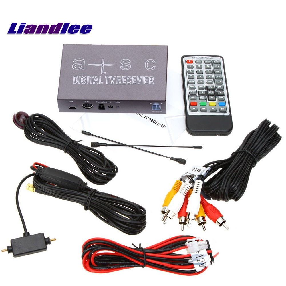 Liandlee For South Korea Car Digital TV ATSC Receiver D-TV Mobile HD TV Turner Box Suitable For Driving or Home / Model T1008 pro skit cp 376m modular crimping tool 225mm 4p 6p 8p ethernet cable crimping plier 3 1 ratchet crimping plier