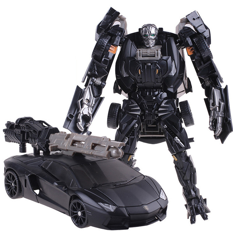 Newest Transformation 5 Action Figure Toys Classic Movie 4 Robot Car Deformation Brinquedos Cool Juguetes Boy Toys birthday Gift new arrival 4pcs set robot trains transformation action figure toys 13cm kay alf dynamic train family deformation train cars