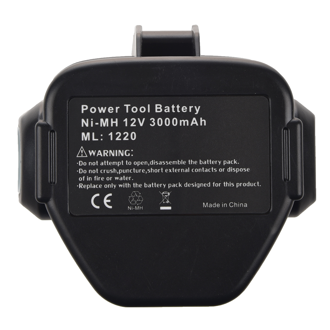 CES NEW 12 VOLT Ni-MH Battery For MAKITA 3.0 Ah 1233 1234 Black&Gray