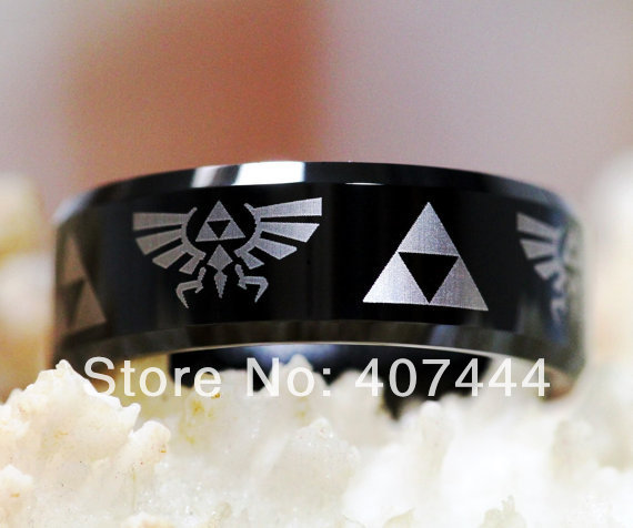Free Shipping Ygk Jewelry Hot Sales 8mm Legend Of Zelda His Her