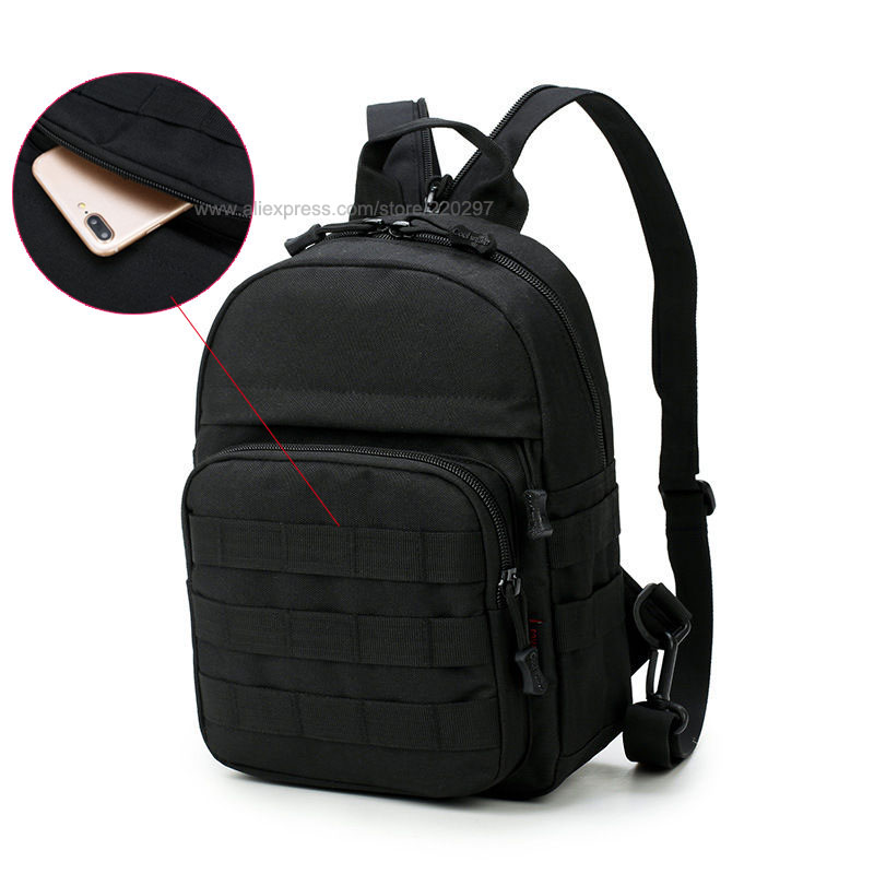 Sports & Entertainment Outdoor Sports Small Mini Backpack Camping Military Tactical Rucksack Molle Shoulder Bags Waterproof Assault Sling Bag Xa411wa Camping & Hiking