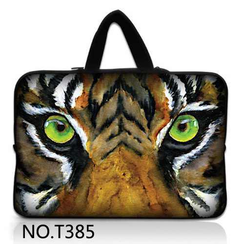 """Tiger Face Laptop Sleeve Tablet Case Notebook Cover For 7 10 12 13 14"""" 15 15.6 17 inch Briefcase For MacBook HP Dell Lenovo ASUS"""