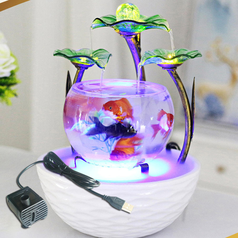 5V Ultra-Quiet Submersible Water Fountain Pump Filter Fish Tank Pond Aquarium Air Pump Not Include Fish Tank To Increase Oxygen