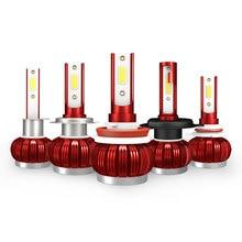 K1 H7 H4 H11 Led Headlight Bulb 6000k H1 9005 9006 880 Car Light 36w 6000lm Pair Replace Auto Lamp Kits Accessory 12v