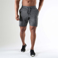 Men S Shorts With Pockets Bodybuilding Clothing Men Golds Athlete Fitness Bermuda Weight Lifting Workout Cotton