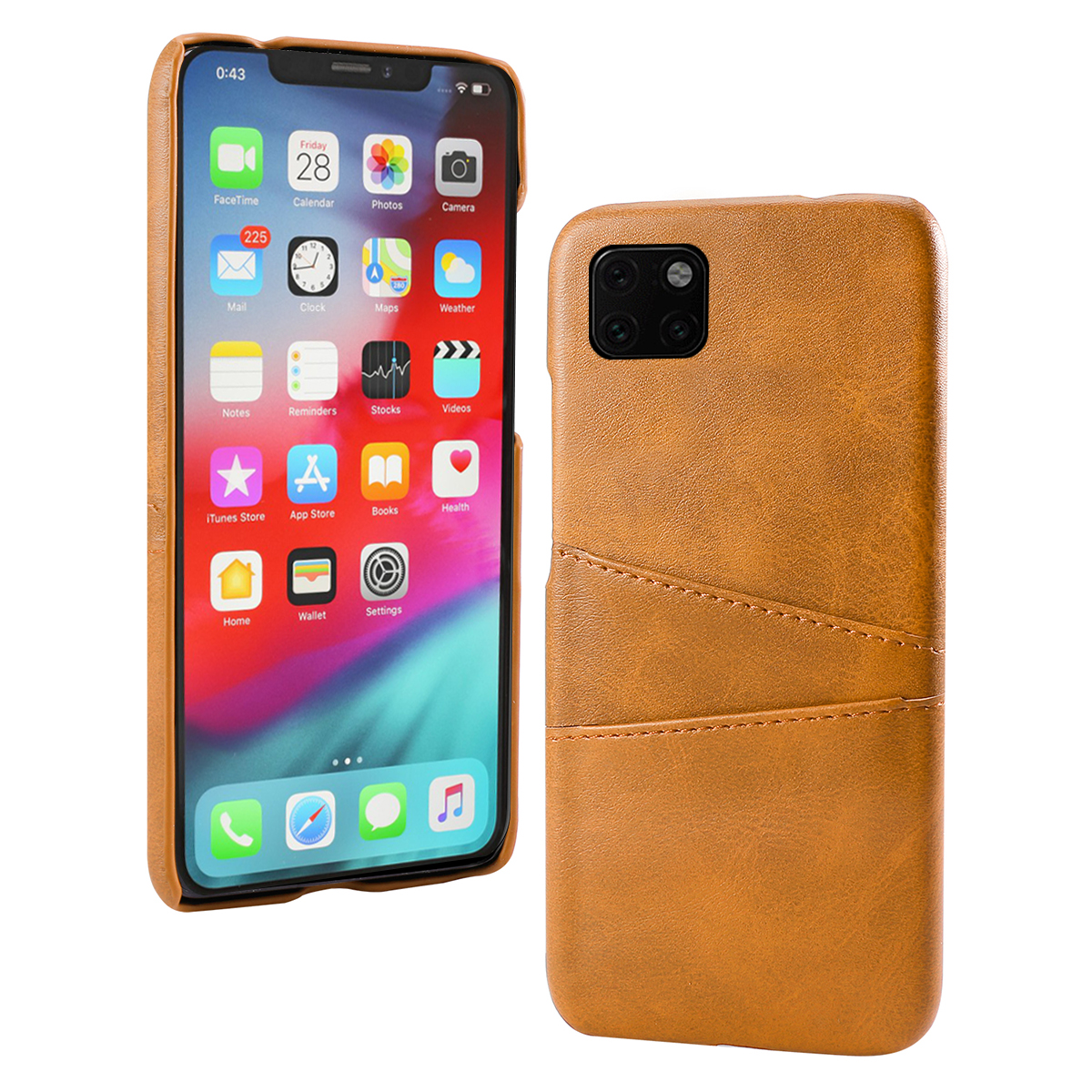 Torubia Leather Card Holder Case for iPhone 11/11 Pro/11 Pro Max 1