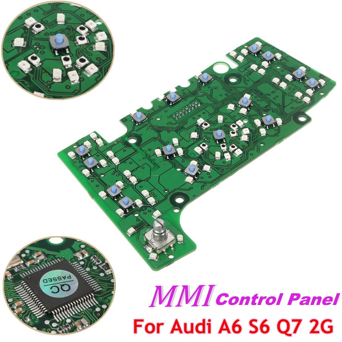 For MMI Multimedia Interface Control Panel Circuit Board For Audi A6 A6L 2005- 2011 Q7 2005 -2008 OEM 4F1919611