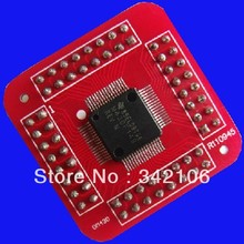 Free Shipping!!!  MSP430F169 MSP430 microcontroller core adapter plate soldered chips